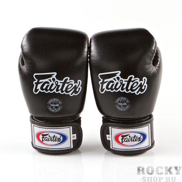 Перчатки тренировочные на липучке Fairtex, 18 унций  - купить со скидкой