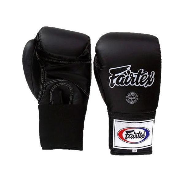 Тренировочные перчатки с эластичным рукавом Fairtex, 16oz FairtexБоксерские перчатки<br>Можно использовать на тренировкахпо любым видам единоборствПрекрасно подходят для тренировочных спаррингов, а также работы на мешках и на лапахХарактеристики:Качественная ручная сборка.Материал - натуральная кожа.Эластичное запястьеНаполнитель пена с хорошей амортизацией ударов<br>
