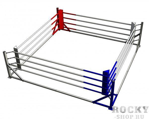 Боксерский ринг рамный 5*5 метров Завод спортивного оборудования