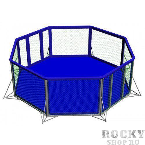 Восьмиугольный ринг для ММА, диаметр 9.75 м, высота помоста 1 м Завод спортивного оборудования