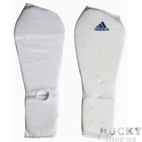 Защита голени и стопы Shin and Step Pa, белая Adidas
