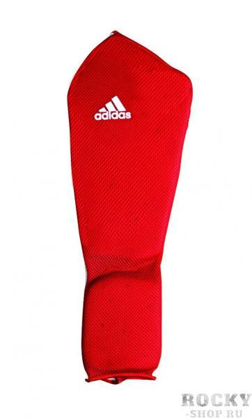 Купить Защита голени и стопы Shin and Step Pa Adidas красная (арт. 4655)