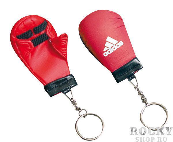 Брелок для ключей Key Chain Mini Karate Glove, красный AdidasСувенирная продукция<br>Брелок для ключей Key Chain Mini Karate Glove<br>