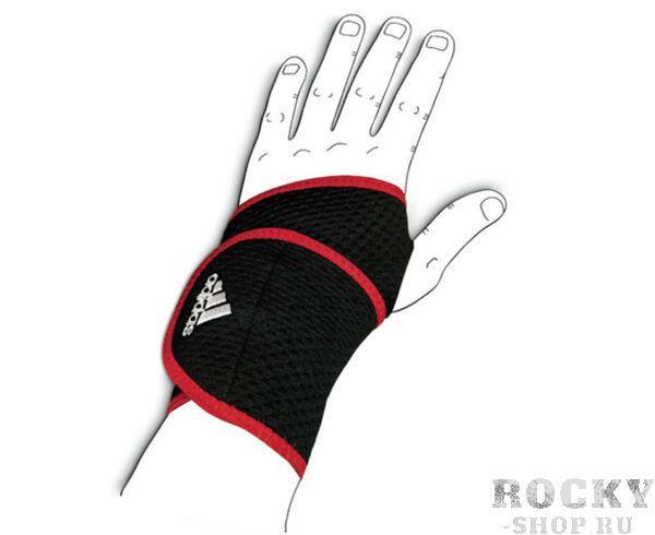 Купить Суппорт запястья Wrist Support черно-красный Adidas (арт. 4660)