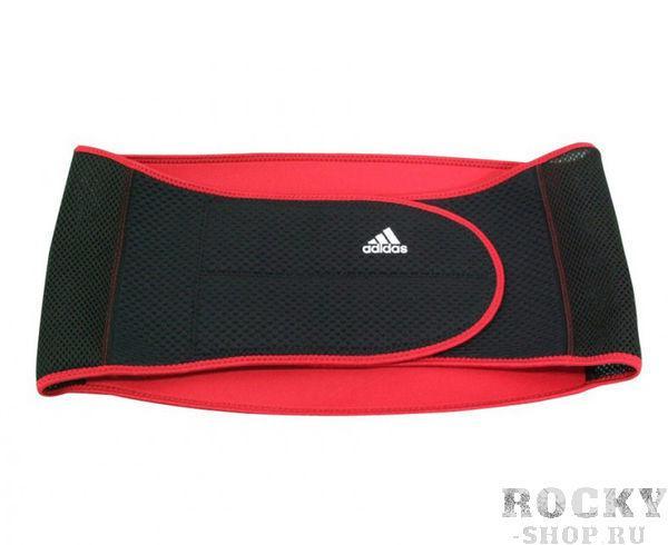 Купить Суппорт поясницы Lumbar Support черно-красный Adidas (арт. 4666)