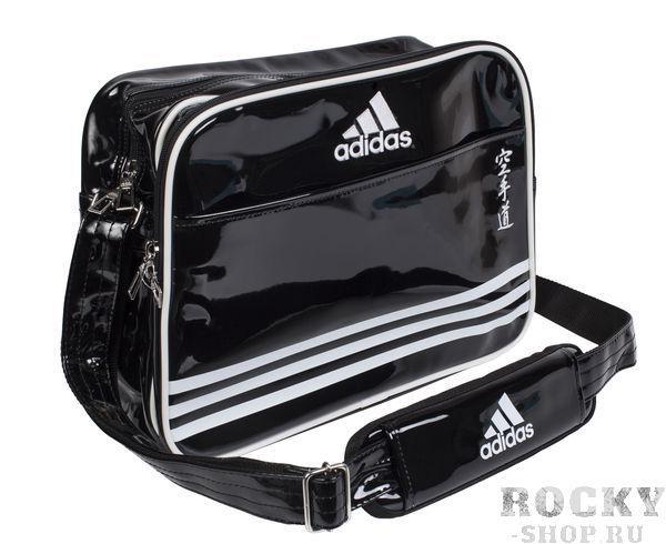 Купить Сумка спортивная Sports Carry Bag Karate S Adidas черно-белая (арт. 4669)