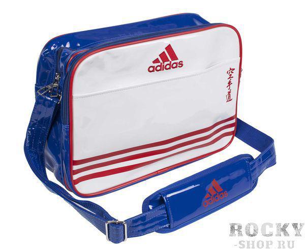 Купить Сумка спортивная Sports Carry Bag Karate S Adidas бело-сине-красная (арт. 4670)