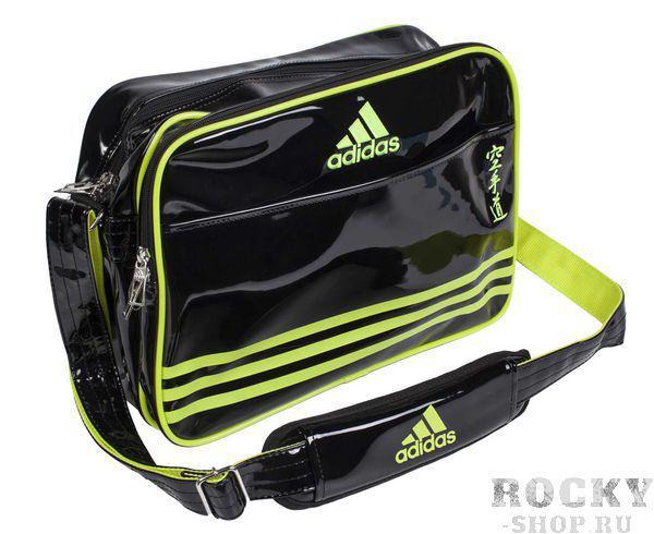 Купить Сумка спортивная Sports Carry Bag Karate S Adidas черно-желтая (арт. 4671)