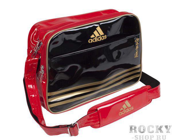 Купить Сумка спортивная Sports Carry Bag Karate S Adidas черно-красно-золотая (арт. 4672)