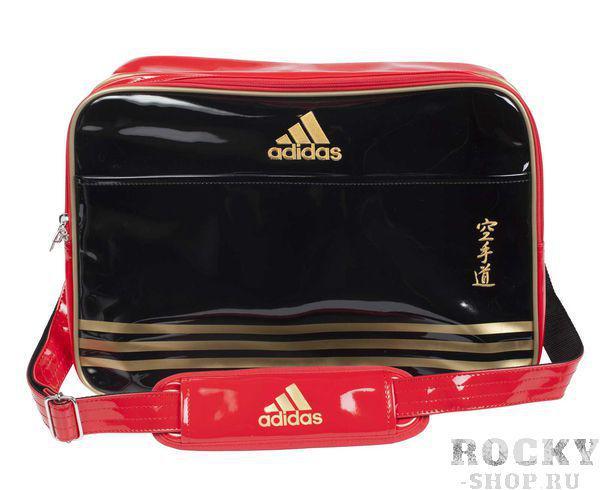 Купить Сумка спортивная Sports Carry Bag Karate L Adidas черно-красно-золотая (арт. 4680)