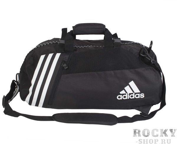 Купить Сумка спортивная Sport Bag Karate L Adidas черно-белая (арт. 4689)