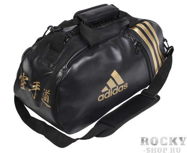 Купить Сумка спортивная Super Sport Bag Karate S черно-золотая Adidas (арт. 4690)