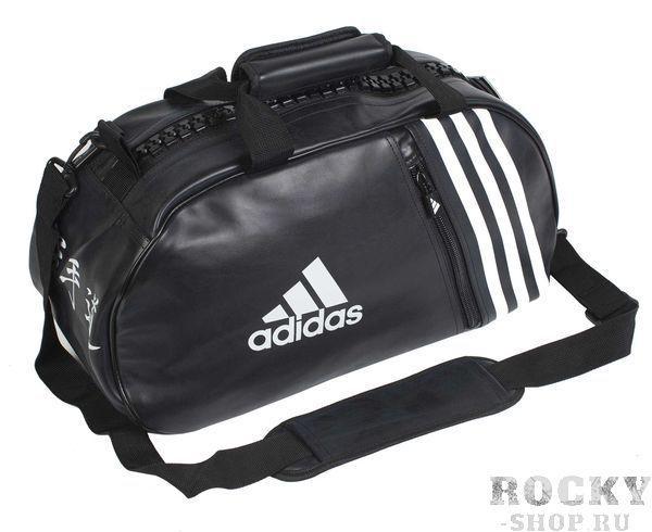 Купить Сумка спортивная Super Sport Bag Karate S черно-белая Adidas (арт. 4691)