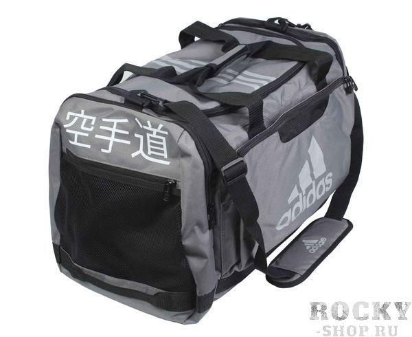 Сумка спортивная Nylon Team Bag Karate M серая