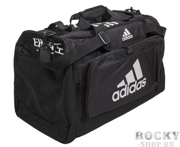 Сумка спортивная Nylon Team Bag Taekwondo M Adidas черная (арт. 4698)  - купить со скидкой