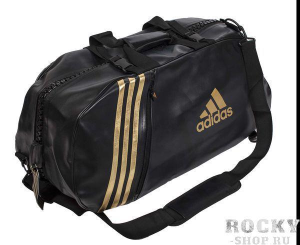 Купить Сумка спортивная Super Sport Bag Karate M Adidas черно-золотая (арт. 4700)