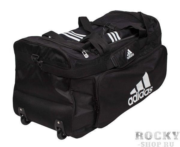 Купить Сумка спортивная с колесами Trolley Sport Bag Karate XL Adidas черная (арт. 4702)