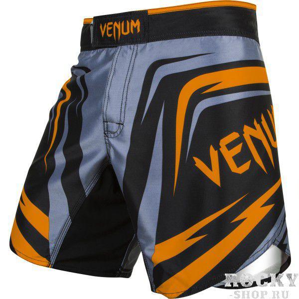 Купить Шорты ММА Venum Sharp 2.0 Fight Shorts - Black/Orange (арт. 4716)
