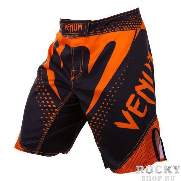 Купить Шорты ММА Venum Hurricane Fight Short - Black/Neo Orange (арт. 4719)
