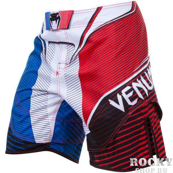 Купить Шорты ММА Venum French Hero Fight Shorts Blue/Red/White (арт. 4721)