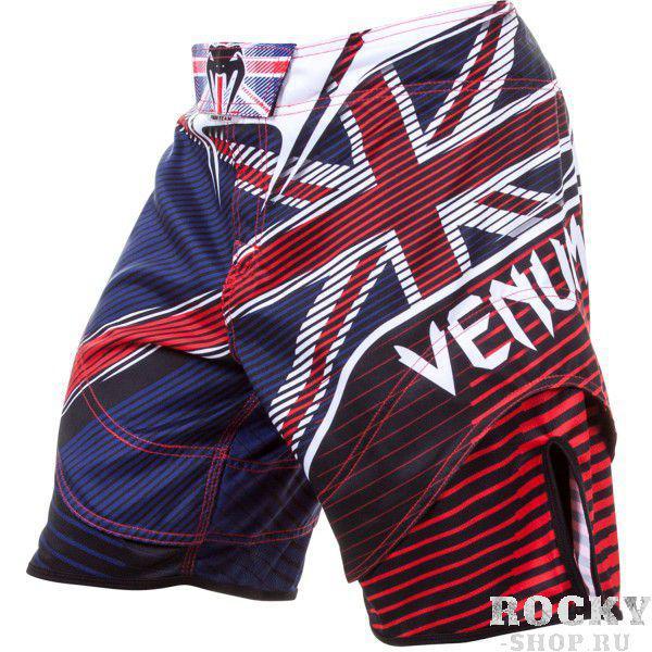 Купить Шорты ММА Venum UK Hero Fight Short - Blue/Red/Ice (арт. 4722)