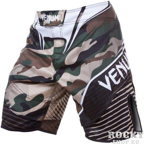 Шорты ММА Venum Camo Hero Fight Shorts - Green/Brown Venum