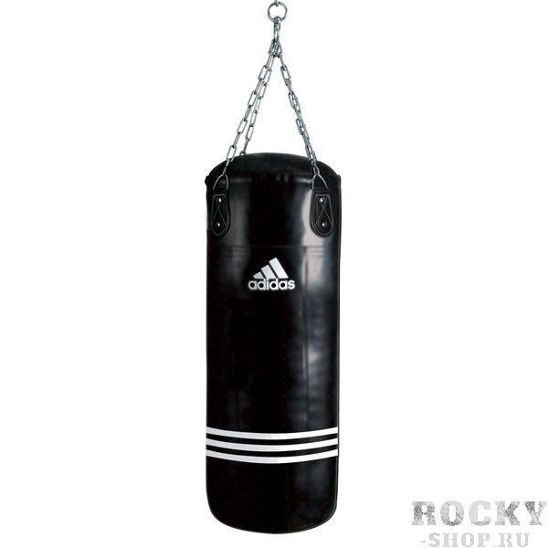 Мешок боксерский Bigger Fatter Bag черный, 150 x 40см, черный AdidasСнаряды для бокса<br>Maize. Тренировочный боксёрский мешок. Материал PU MAYA.<br><br>Цвет: черный