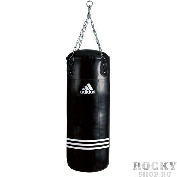 Мешок боксерский Bigger Fatter Bag черный, 180 x 40см, черный AdidasСнаряды для бокса<br>Maize. Тренировочный боксёрский мешок. Материал PU MAYA.<br>