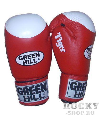 Купить Перчатки боксерские TIGER от Green Hill, 10 унций