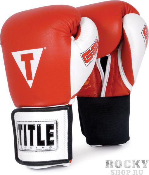 Купить Перчатки боксерские, тренировочные TITLE (арт. 4778)