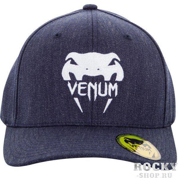 Кепка Venum Logo Cap Blue VenumБейсболки / Кепки<br>Бейсболка (кепка) Venum Logo. Классический тип козырька. Хорошо удерживается на голове благодаря системе крепления Flexfit. Состав: 83% акрил, 15% шерсть, 2% спандекс.<br><br>Размер INT: L/XL