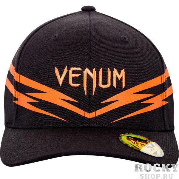 Кепка Venum Sharp 2.0 Cap Black/Orange VenumБейсболки / Кепки<br>Бейсболка (кепка) Venum Sharp 2. 0. Классический тип козырька. Хорошо удерживается на голове благодаря системе крепления Flexfit. Состав: 83% акрил, 15% шерсть, 2% спандекс.<br><br>Размер INT: L/XL