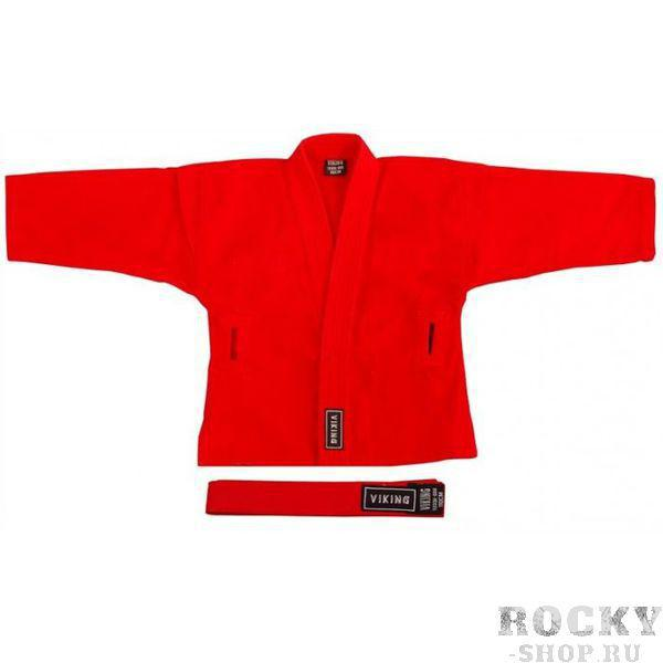 Куртка для самбо красная VIKING SAMBO JACKET V7233-R