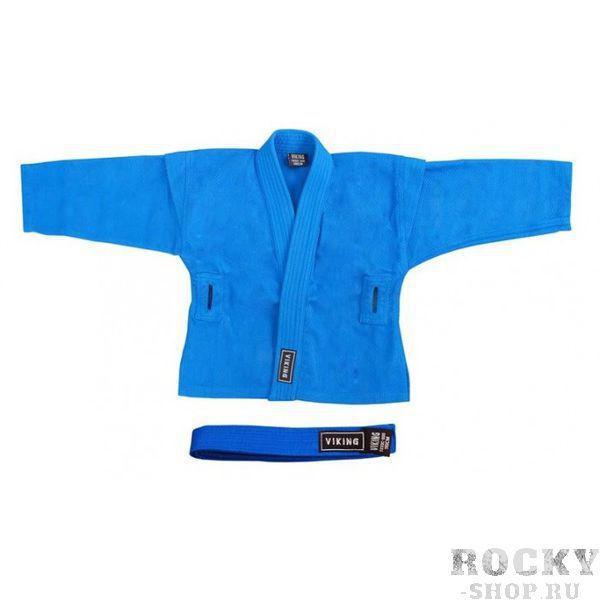 Купить Куртка для самбо синяя VIKING SAMBO JACKET V7233-BE Viking 30-34/130 см (арт. 4838)