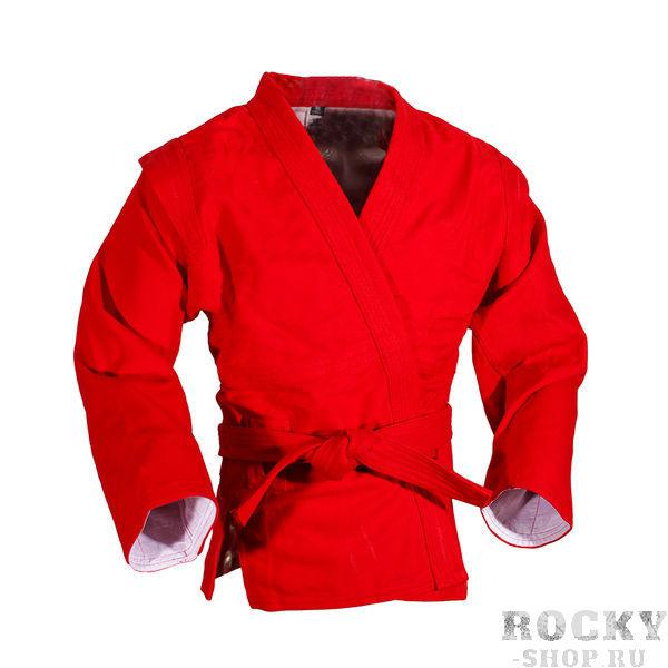 Куртка для самбо Sambo Stile от Green Hill, лицензия ФСР, Красная Green HillЭкипировка для Самбо<br>Магазин Rocky-shop.ru представляет куртку для самбо от Green Hill, которая подходит для тренировок и соревнований любого уровня.&amp;lt;p&amp;gt;Преимущества:&amp;lt;/p&amp;gt;&amp;lt;p&amp;gt;100 % хлопок,&amp;lt;/p&amp;gt;<br><br>&amp;lt;p&amp;gt;Сертифицирована Федерацией Самбо РФ для участия в соревнованиях по спортивному и боевому самбо,&amp;lt;/p&amp;gt;<br><br>&amp;lt;p&amp;gt;Натуральный краситель,&amp;lt;/p&amp;gt;<br><br>&amp;lt;p&amp;gt;Красный цвет.&amp;lt;/p&amp;gt;<br>