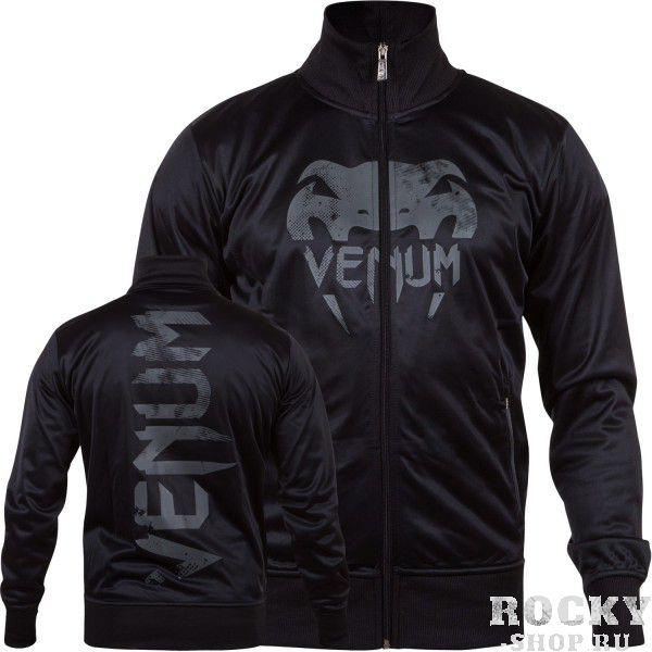 Олимпийка Venum Giant Grunge Track Jacket Black/Grey Venum