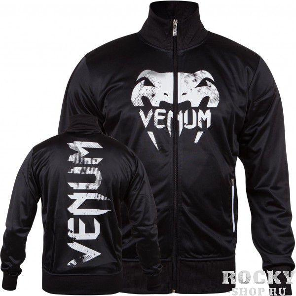 Олимпийка Venum Giant Grunge Track Jacket Black/White