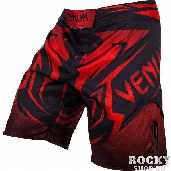 Купить Шорты ММА Venum Shadow Hunter Fight Short - Black/Red PSn-venshorts0175