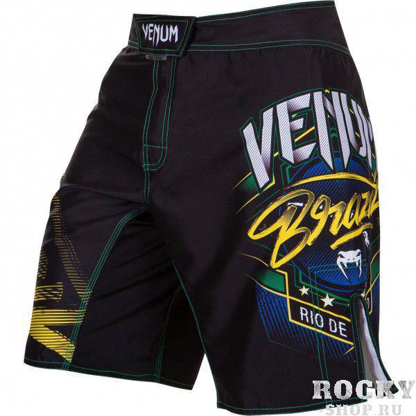 Купить Шорты ММА Venum Carioca 3.0 Fight Shorts - Black (арт. 4891)