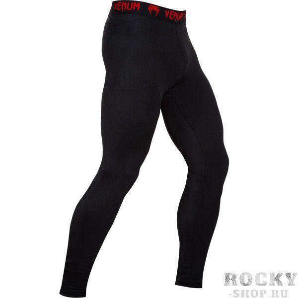 Купить Компрессионные штаны Venum Contender 2.0 Compression Spats Black/Red (арт. 4892)