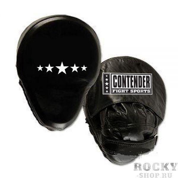 Купить Боксерские лапы изогнутые Contender черный (арт. 494)