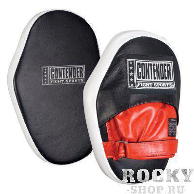 Купить Боксерские лапы классические Contender черный (арт. 495)