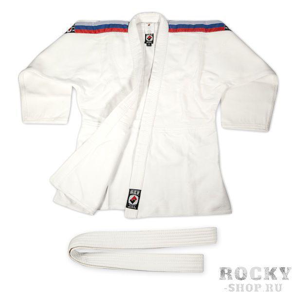 Купить Кимоно для дзюдо взрослое Profi Standart (белое) Крепыш Я (арт. 4950)