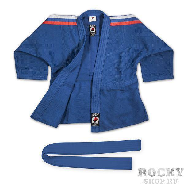 Купить Кимоно для дзюдо взрослое Profi Standart (синее) Крепыш Я (арт. 4969)