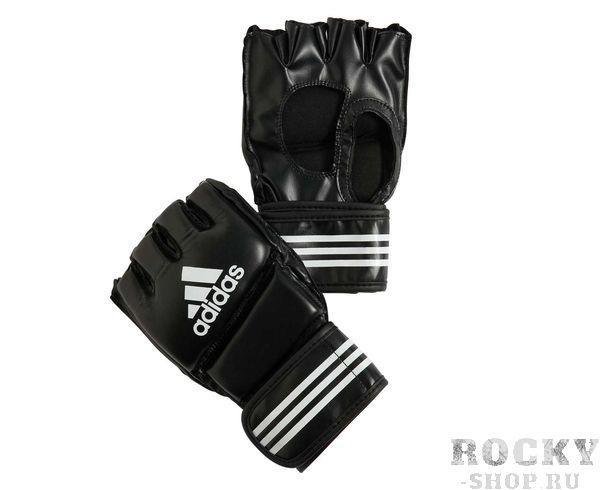 Купить Перчатки для смешанных единоборств Grappling Training черные Adidas m (арт. 4975)