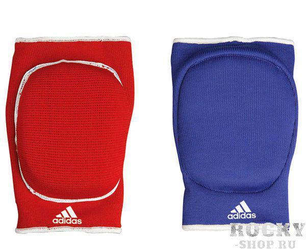 Купить Защита локтя двухсторонняя Reversible Elbow Guard Padded Adidas сине-красная (арт. 4983)