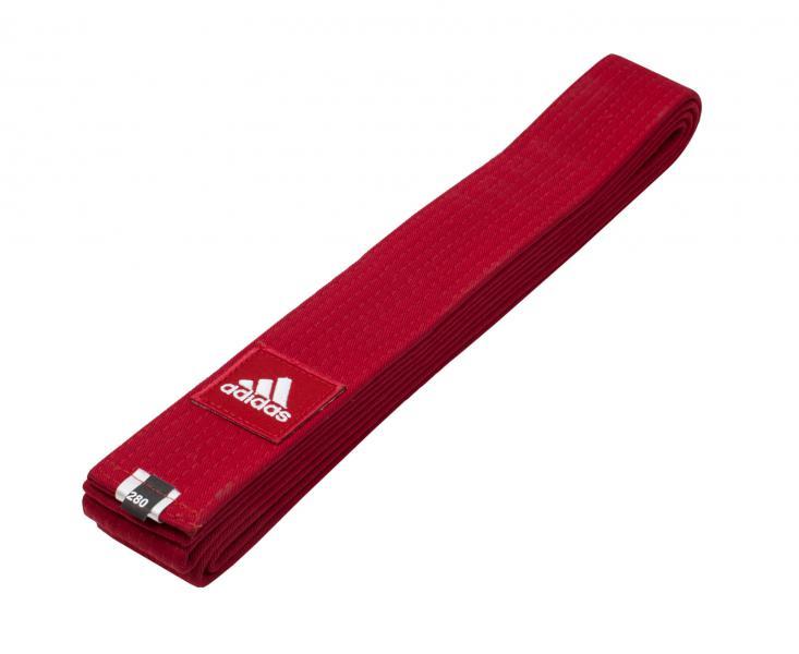 Пояс для единоборств Elite, красный AdidasЭкипировка для Каратэ<br>Универсальный профессиональный пояс для единоборств Elite. Ширина 4. 5 см.<br><br>Размер: 260 см