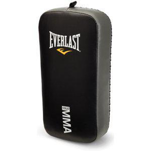 Макивара Everlast MMA, Чёрная EverlastЛапы и макивары<br>Подушка-макивара для отработки ударов. Специально разработана для работы в стиле смешанных единоборств. <br> Небольшая собственная масса<br> Гасит силу удара<br> Большая площадь рабочей поверхности<br> Материал - натуральная кожа<br>