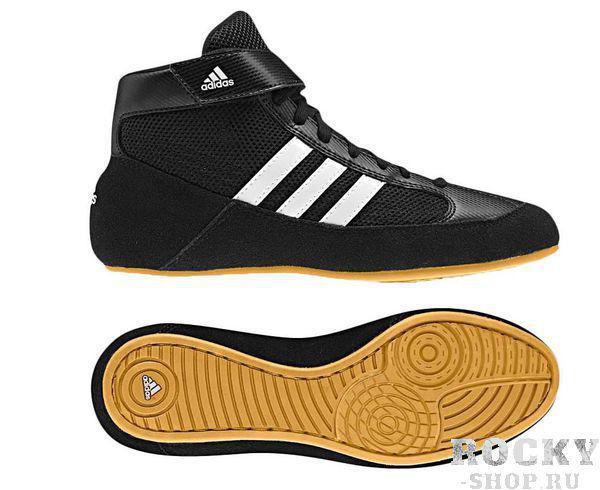 Борцовки HVC, черные Adidas
