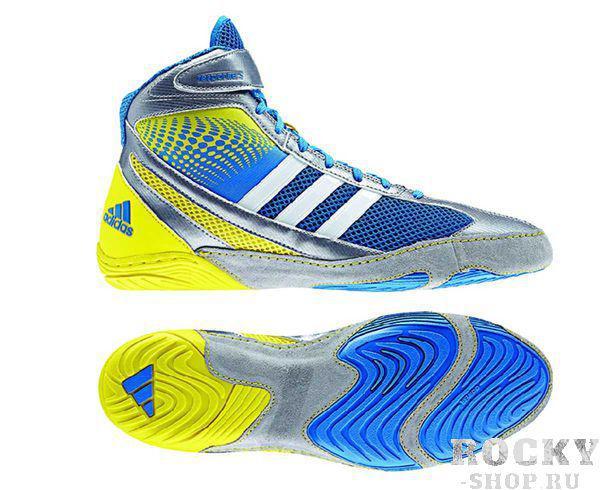Купить Борцовки Response 3.1 Adidas сине-желтые (арт. 5063)